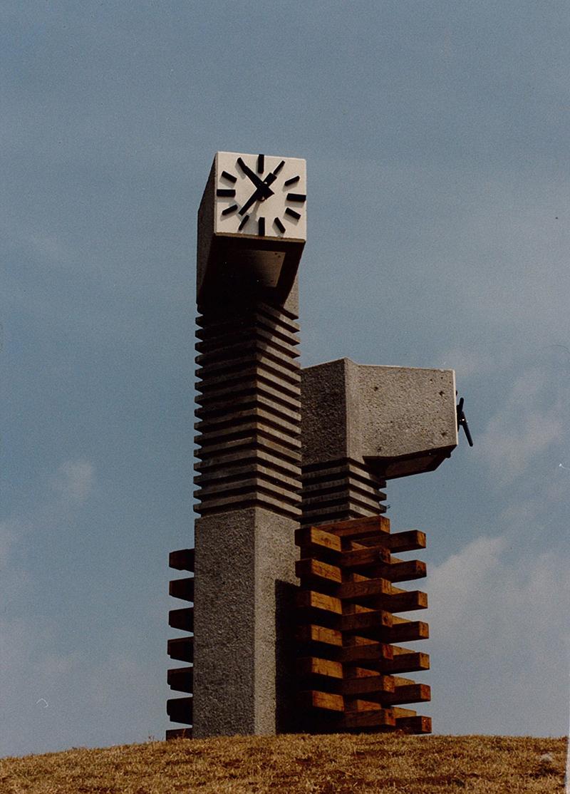 県立白浜少年自然の家時計塔