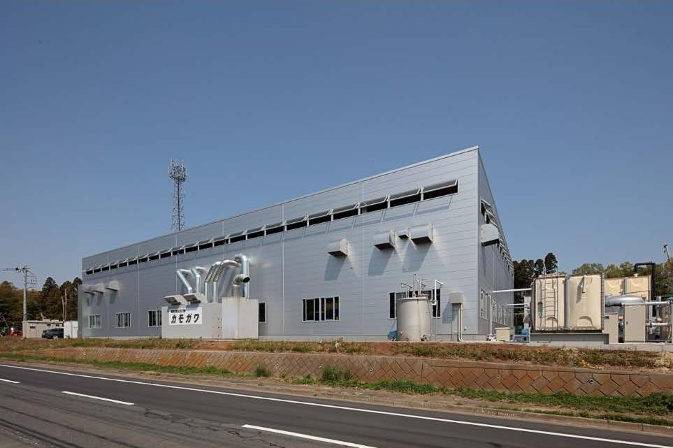 (有)カモガワ 工場棟